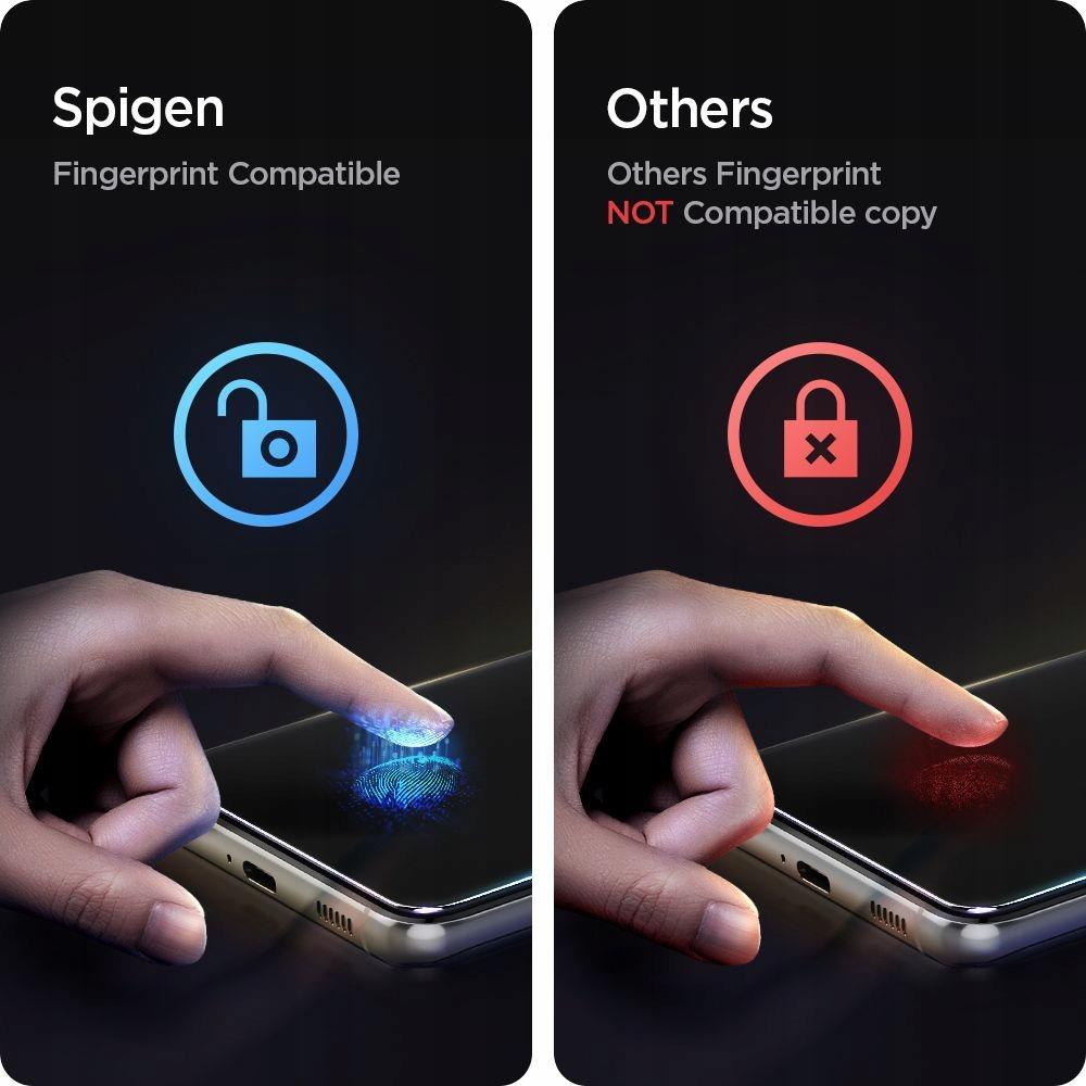 2x Szkło Hartowane Spigen do Galaxy S21 Plus 5G Producent Braders