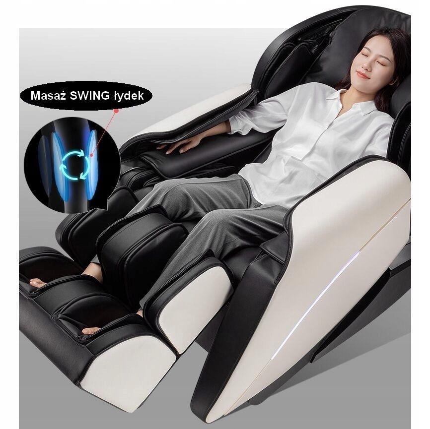 Fotel masujący S+L Zero Gravity+Rozciąganie+Scan Kolor obicia szary
