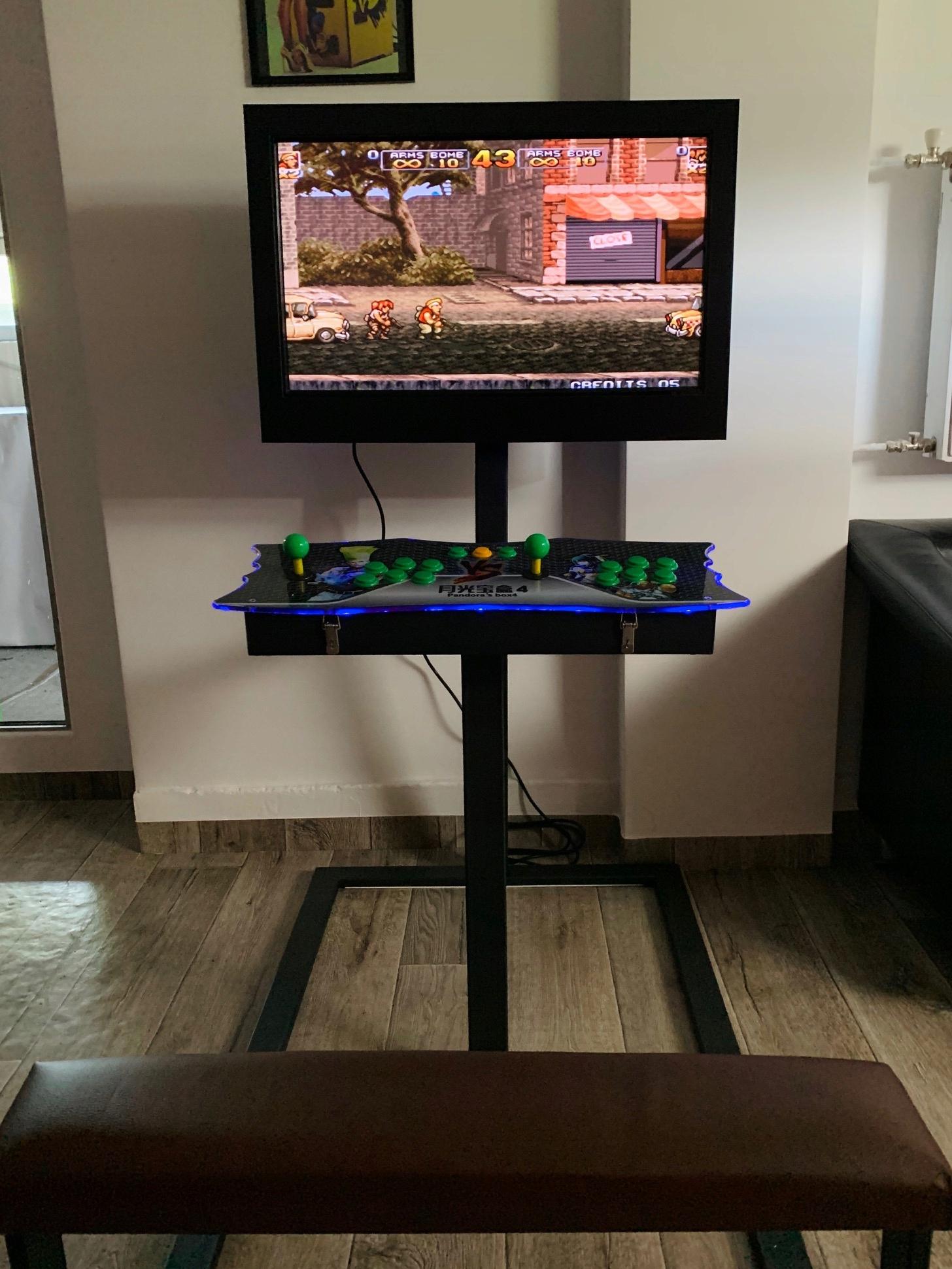 Automat Arcade so sedadlom
