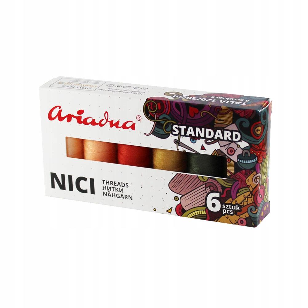 Набор швейных ниток Ariadna Talia 120 осень