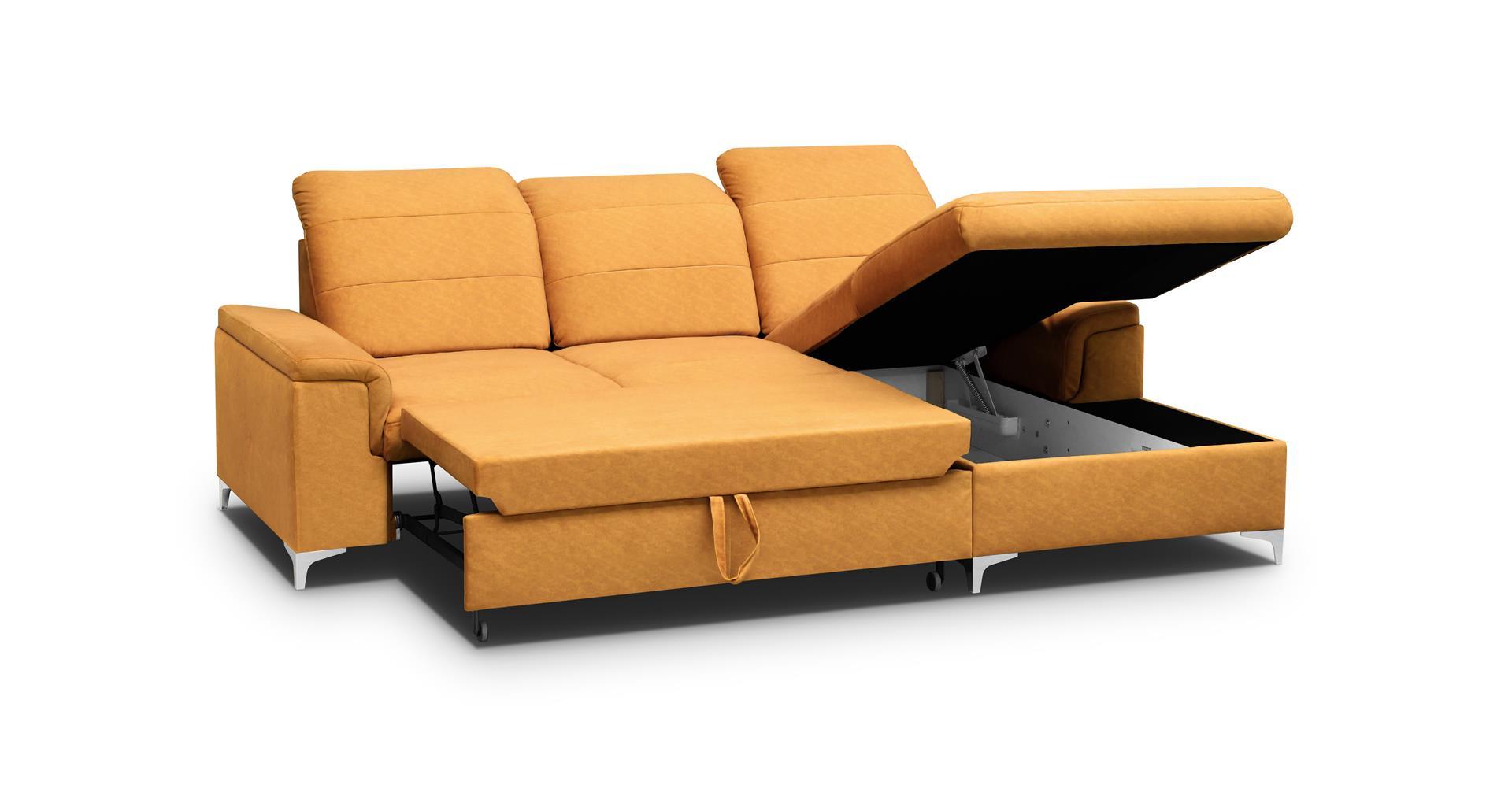 Ecke Bergamo Mini in einem modernen Stil. Möbelhöhe beträgt 94 cm
