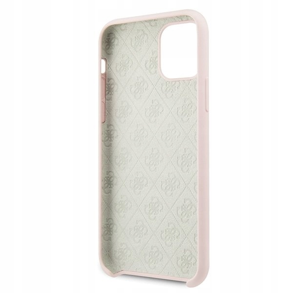 Etui Guess Silicone do iPhone 11 Pro jasnoróżowy Producent Braders