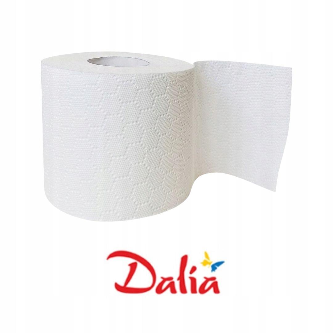 PAPIER TOALETOWY DALIA 3 WARSTWY (8 szt.) x 9 op. Kod produktu PAPIER TOALETOWY DALIA SOFT & STRONG