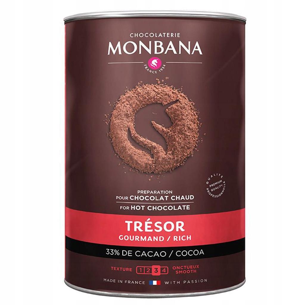 Horúcej čokolády Monbana Izbách 1kg