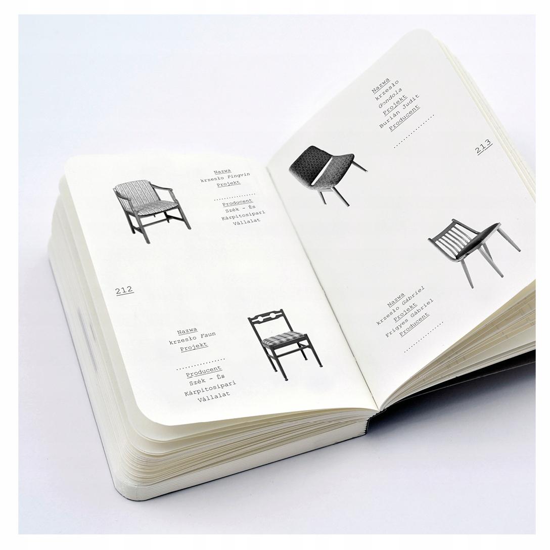 meble katalogi PRL / 4 książki