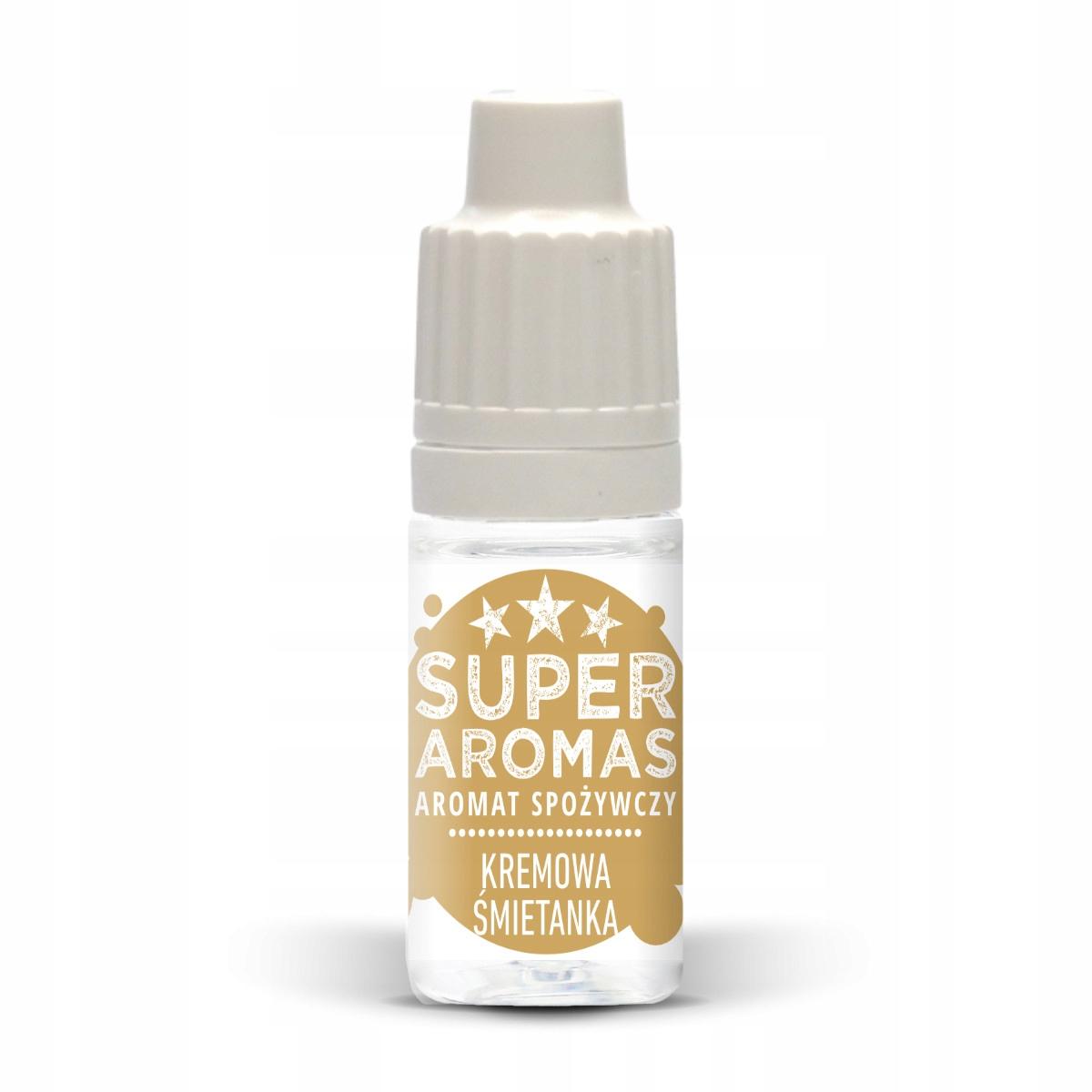 SUPER AROMAS Aromat KREMOWA ŚMIETANKA 10 ml