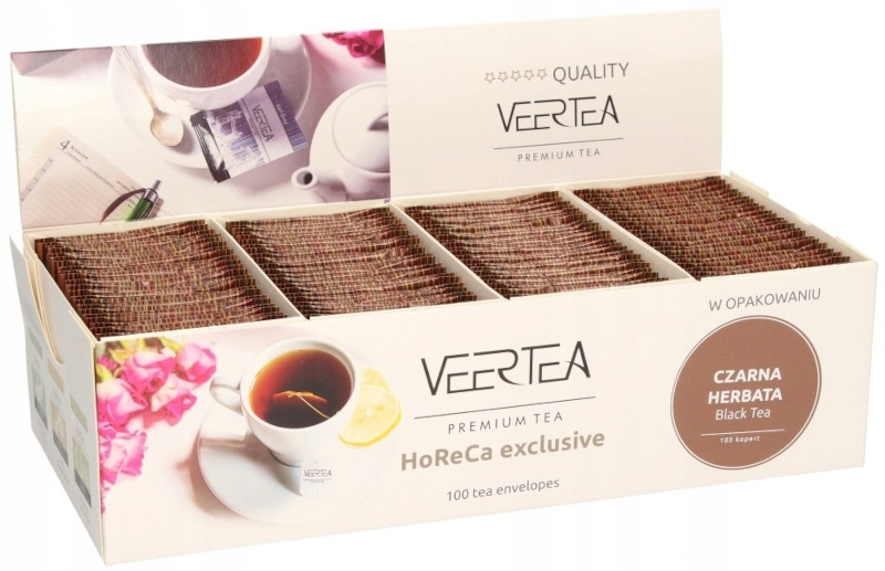 Черный чай Veertea Breakfast Black Tea 100 шт.