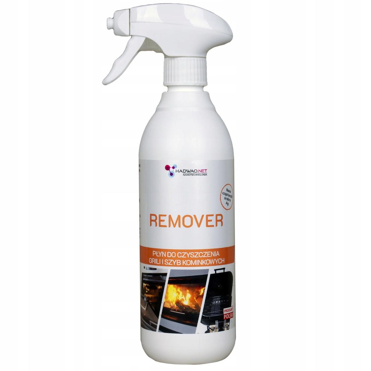 Сильная жидкость для чистки каминного стекла, Remover