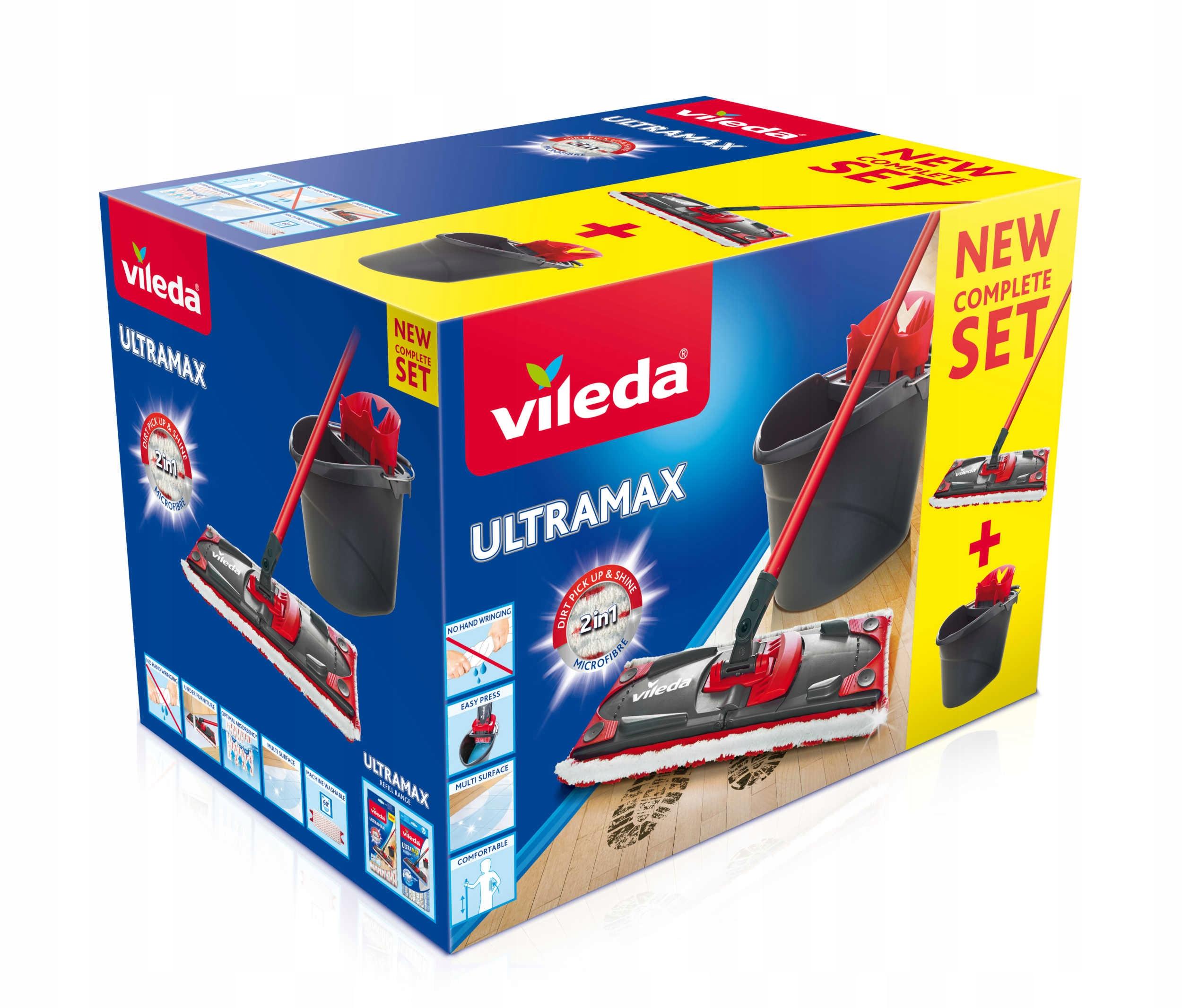 Vileda Set Mop Ultramax 2in1 Коробка с ведром