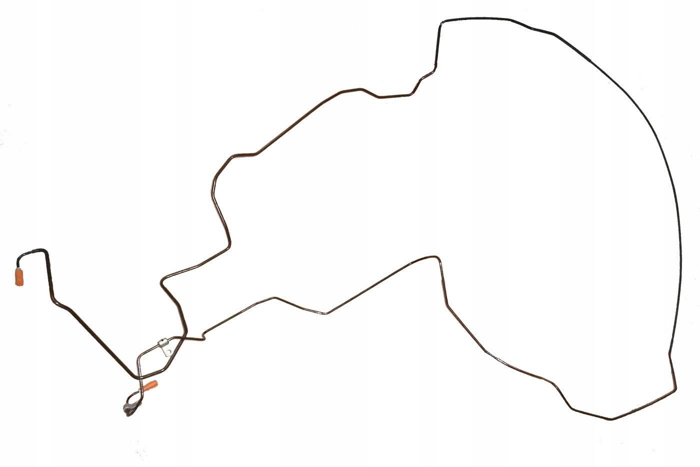 кабель гидравлический подвески citroen c5 iii x7