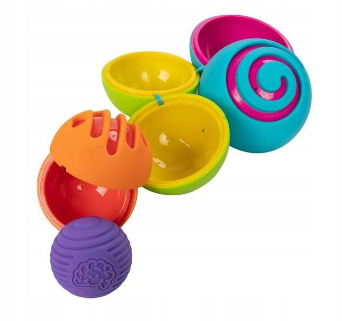 Fat Brain Toy Kula OombeeBall matrioška 4 loptičky