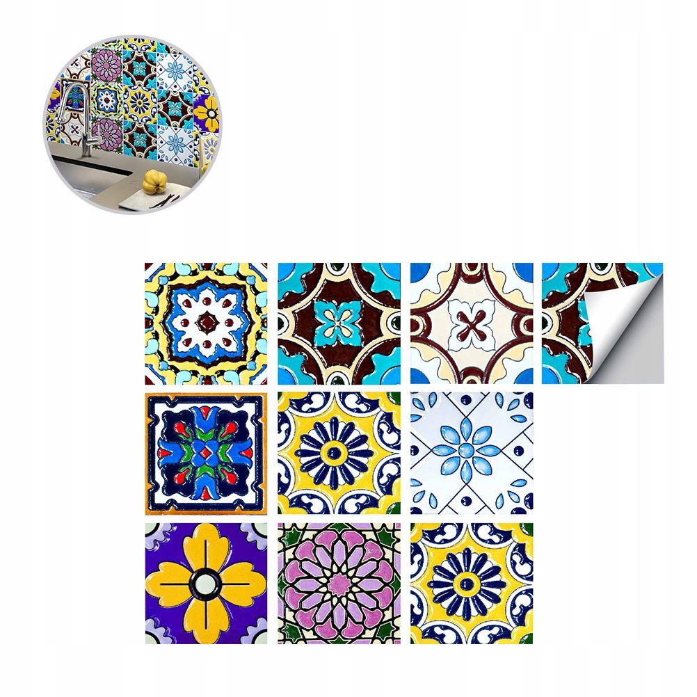 10 ks / balenie kreatívne retro mramorové dlaždice pre domácich majstrov