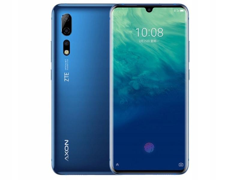Купить Синий Смартфон ZTE Axon 10 Pro 6 / 128GB Pie на Otpravka - цены и фото - доставка из Польши и стран Европы в Украину.