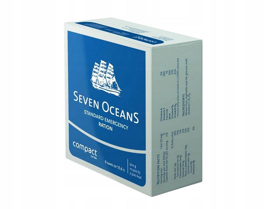 RACJE ŻYWNOŚCIOWE RATUNKOWE Seven Oceans 500 g