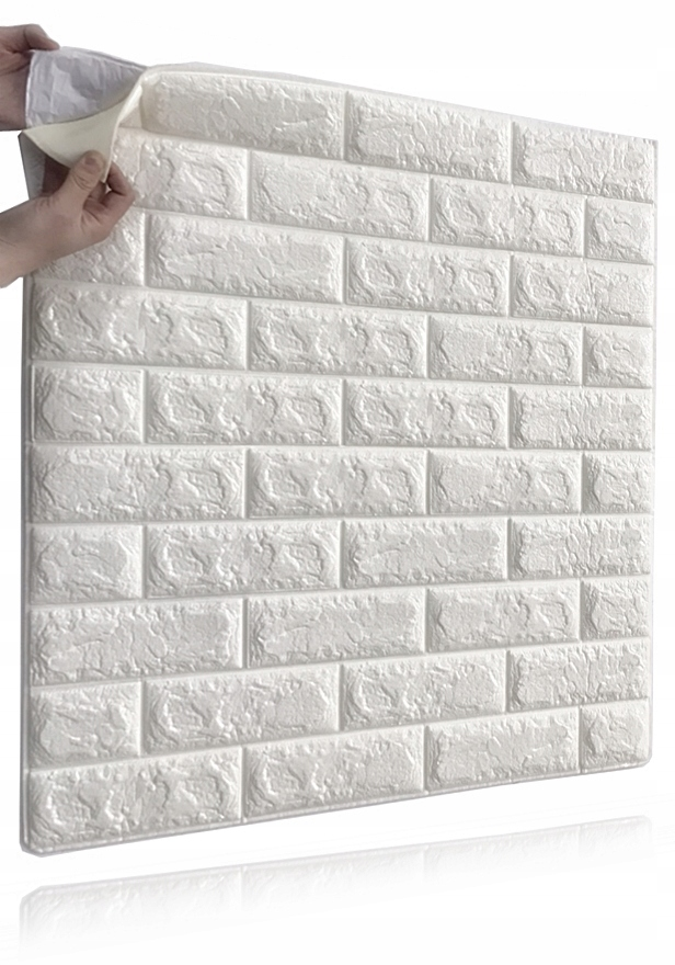 Самоклеящиеся стеновые 3d панели Brick Stone C15