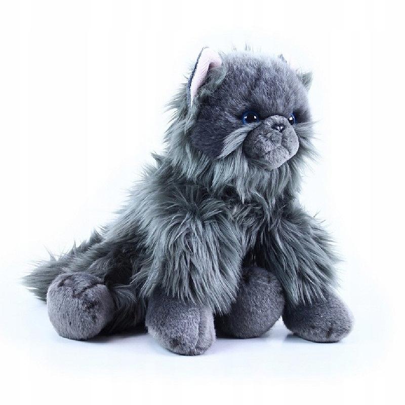 Maskot britskej mačky, plyšová hračka, kvalita ECO, 30 cm