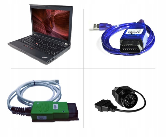 Laptop Diagnostyczny Bmw 4w1 Interfejs Dcan Enet Zabno Allegro Pl