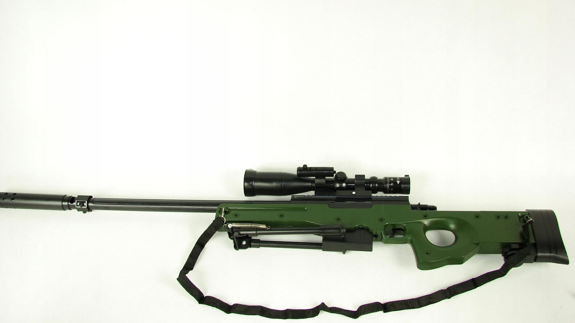 Pištoľové pištole SNAPER SNAJPERKA 108 cm, guľky