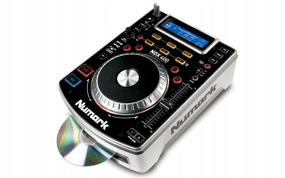 Item Numark NDX 400 CD/MP3/USB+CASE