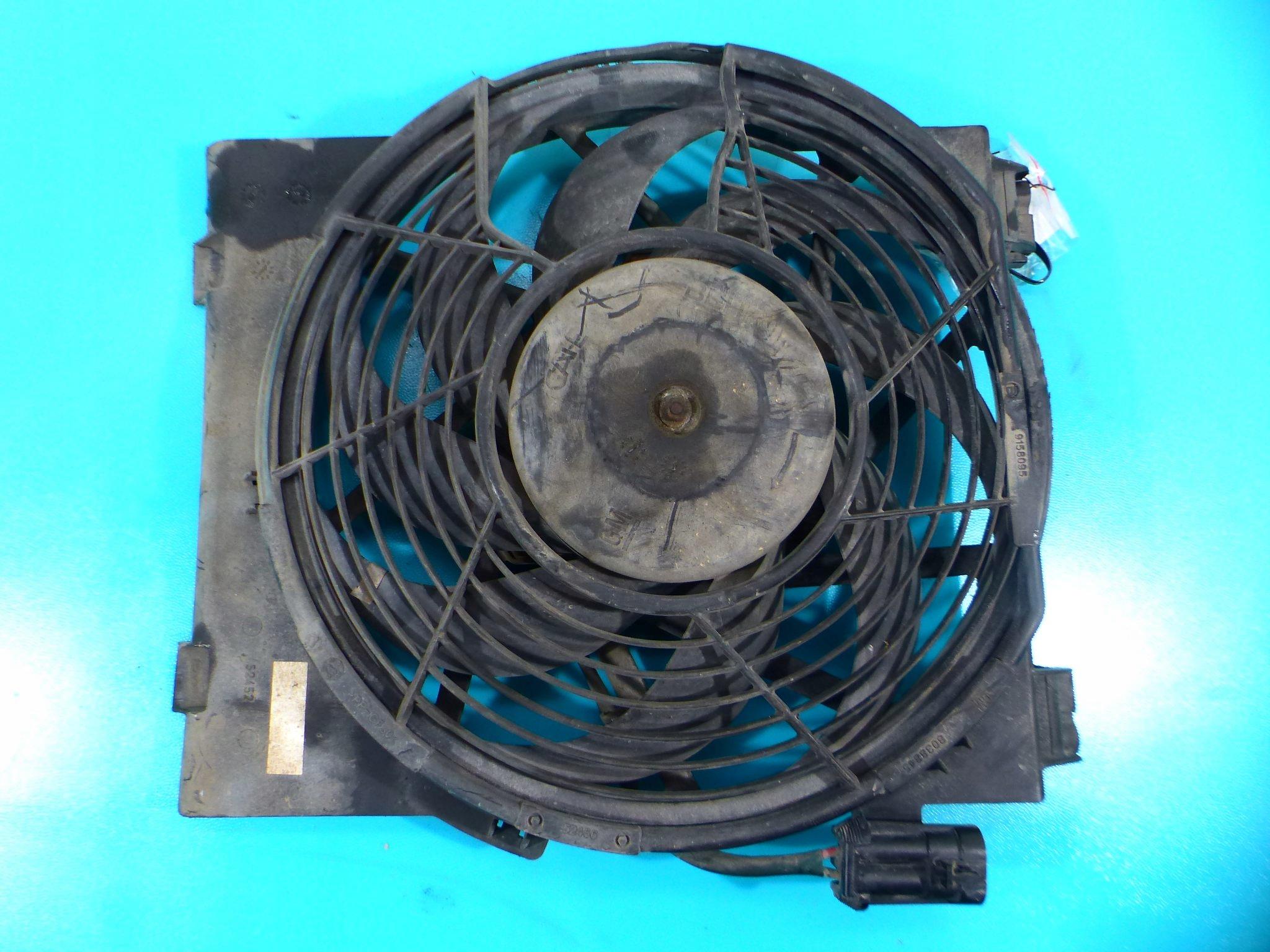 вентилятор кондиционирования воздуха opel corsa c 14 16v