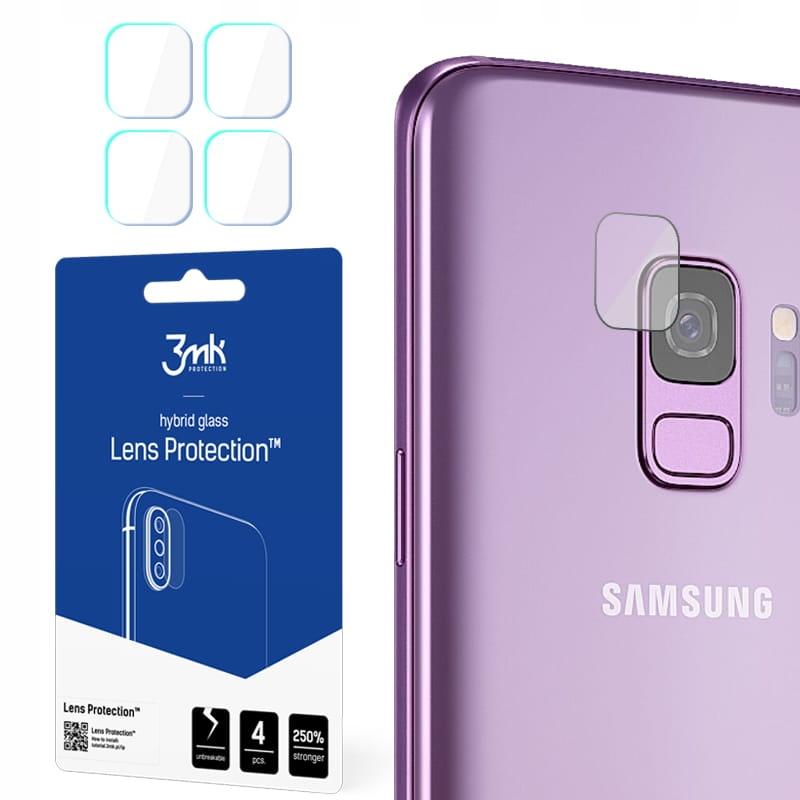 Niepękające szkła hybrydowe obiektyw 3mk Galaxy S9