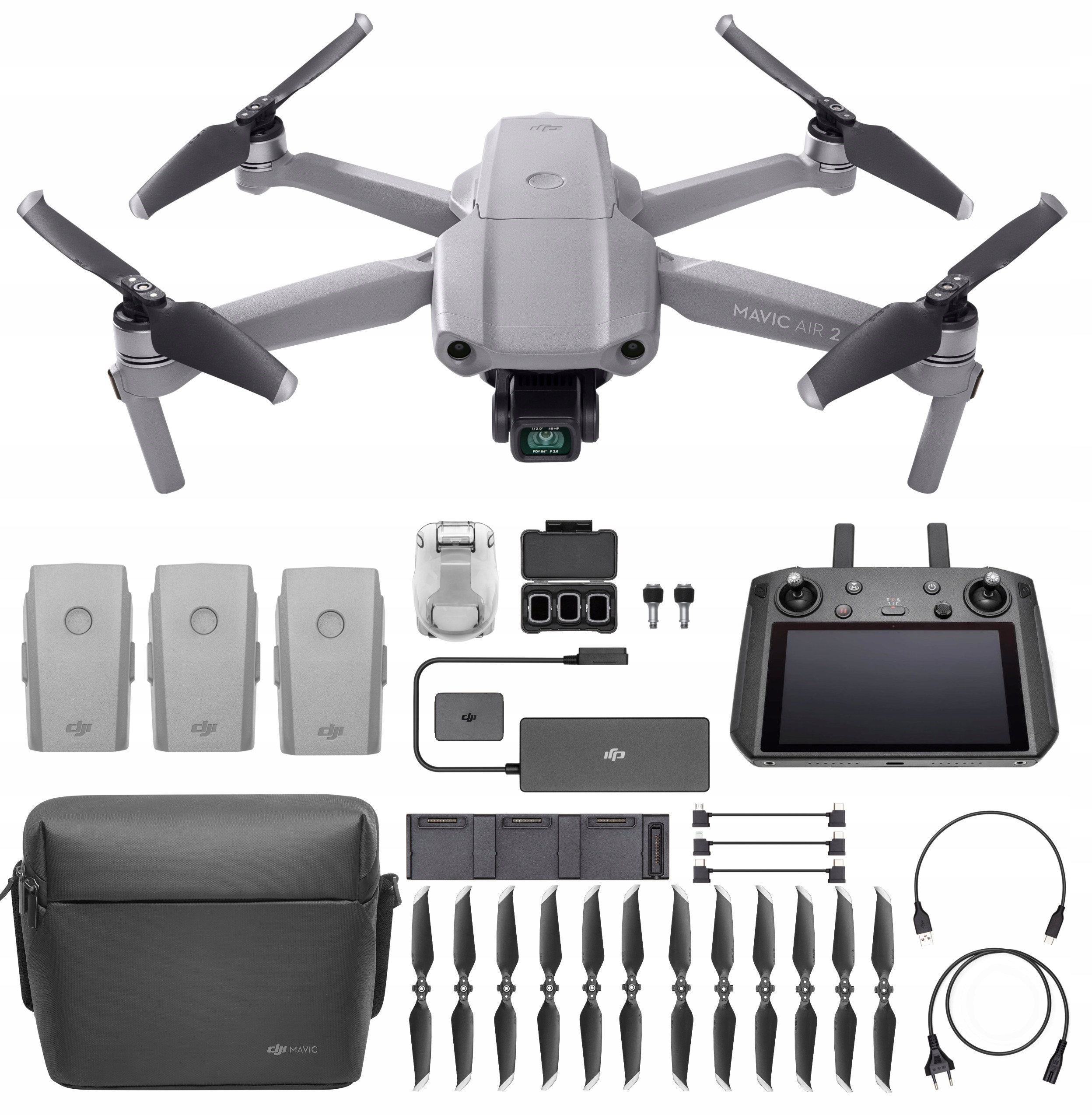 DJI MAVIC AIR 2 FLY MORE COMBO SMART CONTOLLER