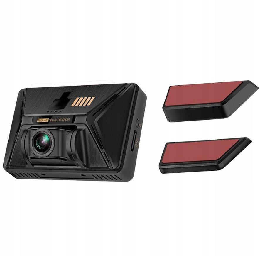 KAMERA SAMOCHODOWA 4K2160P 3F REJESTRATOR PREMIUM Zasilanie akumulatorowe gniazdo zapalniczki samochodowej USB