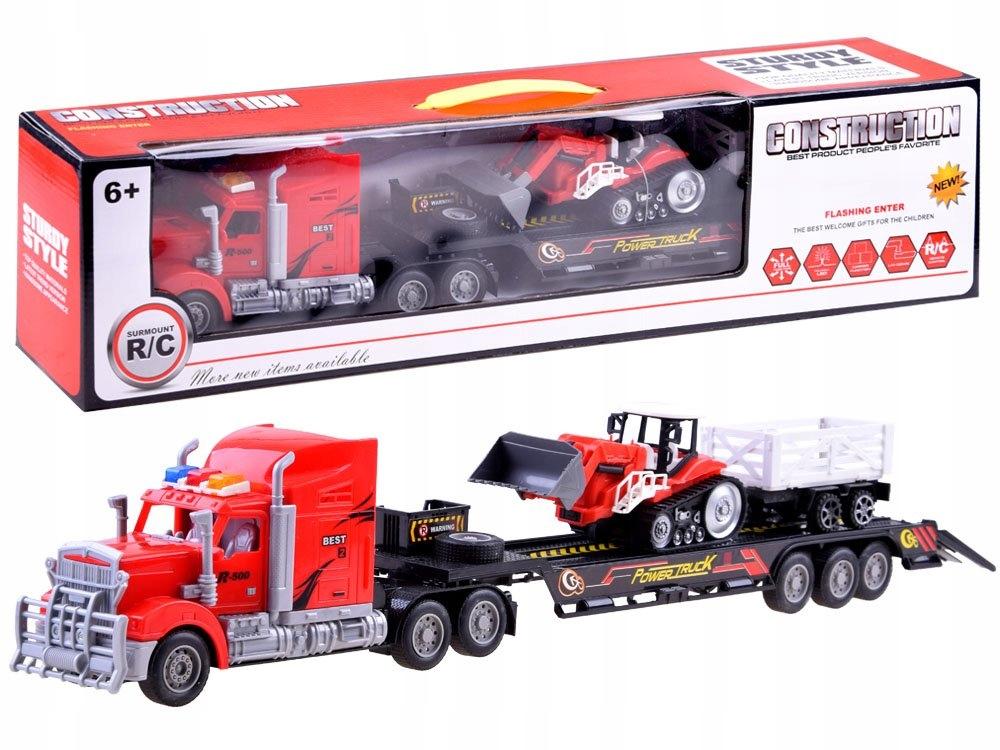 Tir Laweta + Traktor z Przyczepą Zestaw R/C RC0208 Kod producenta RC0208 CZ