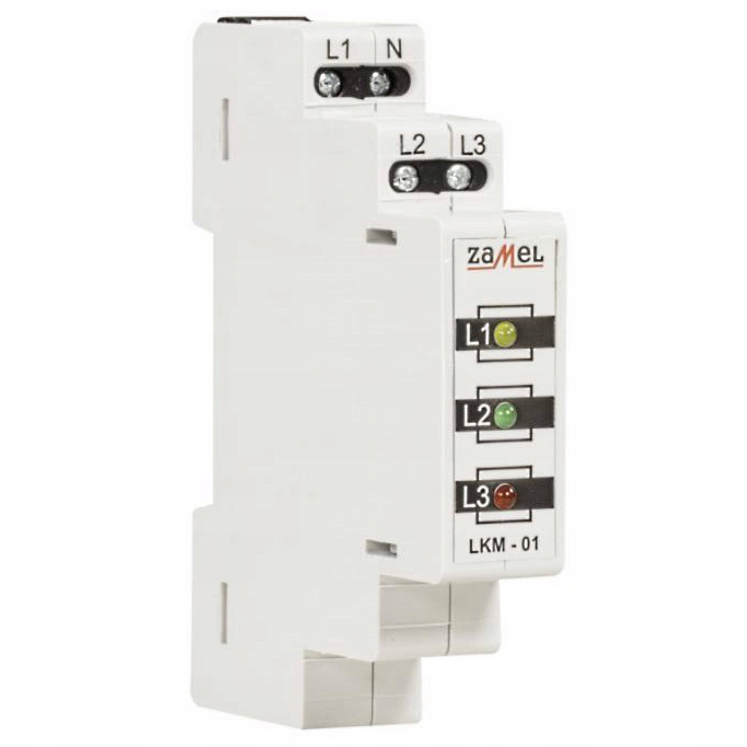 Модульный светильник красный / зеленый / желтый 230-400V AC