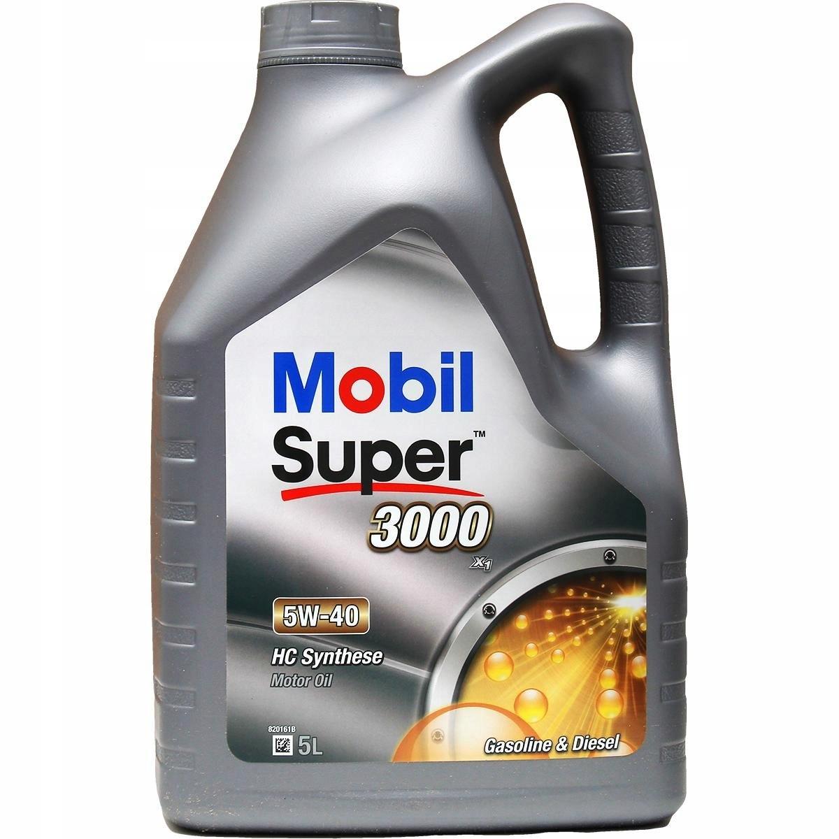 5W-40 0150863 OLEJ MOBIL SUPER 3000 X1 5W40 5L