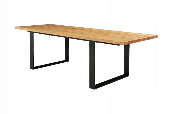 Stôl s nadstavcami 100x160 / 260 MOVA, štýl RETRO LOFT