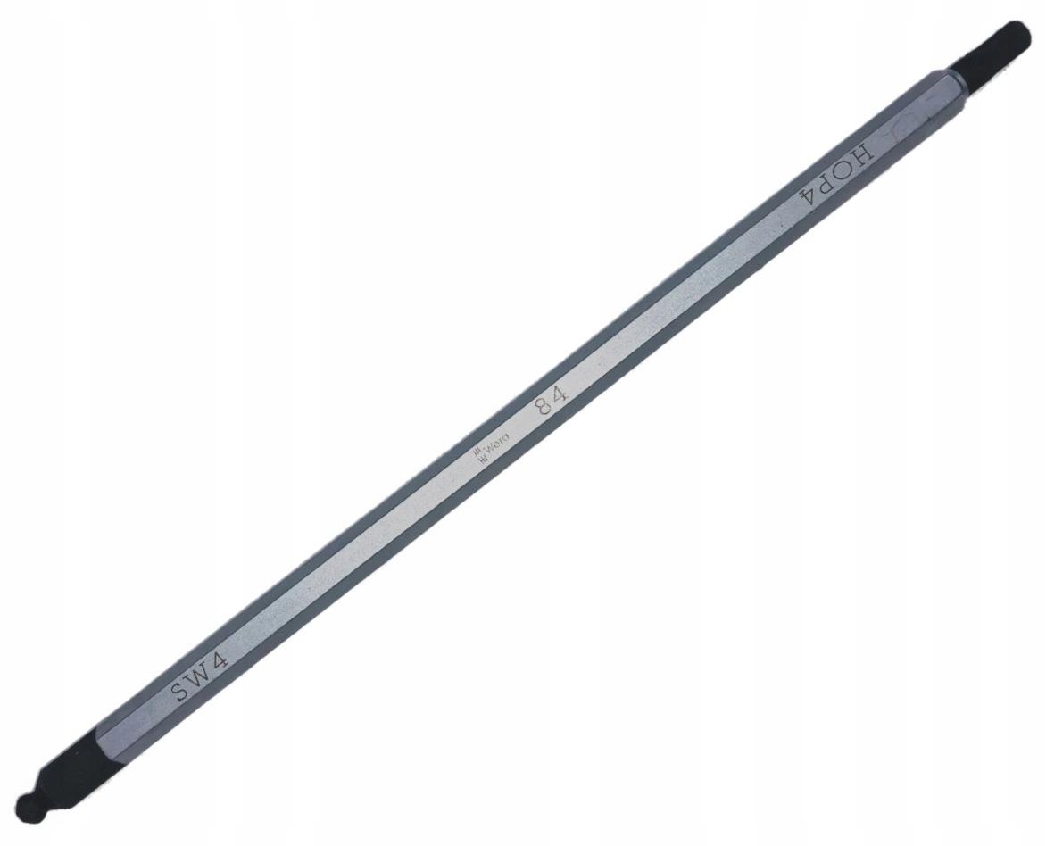 DVOJSTRANNÝ Zliatinový hriadeľ s guľou 4 mm VERA