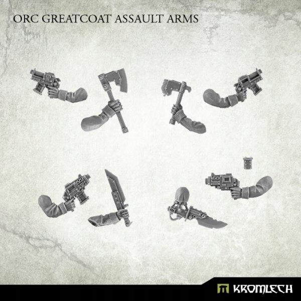 Купить Orc Greatcoat Assault Arms - 5 par. ork orki на Otpravka - цены и фото - доставка из Польши и стран Европы в Украину.