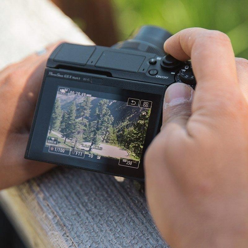 Купить Aparat CANON Powershot G5X Mark II + bateria на Otpravka - цены и фото - доставка из Польши и стран Европы в Украину.