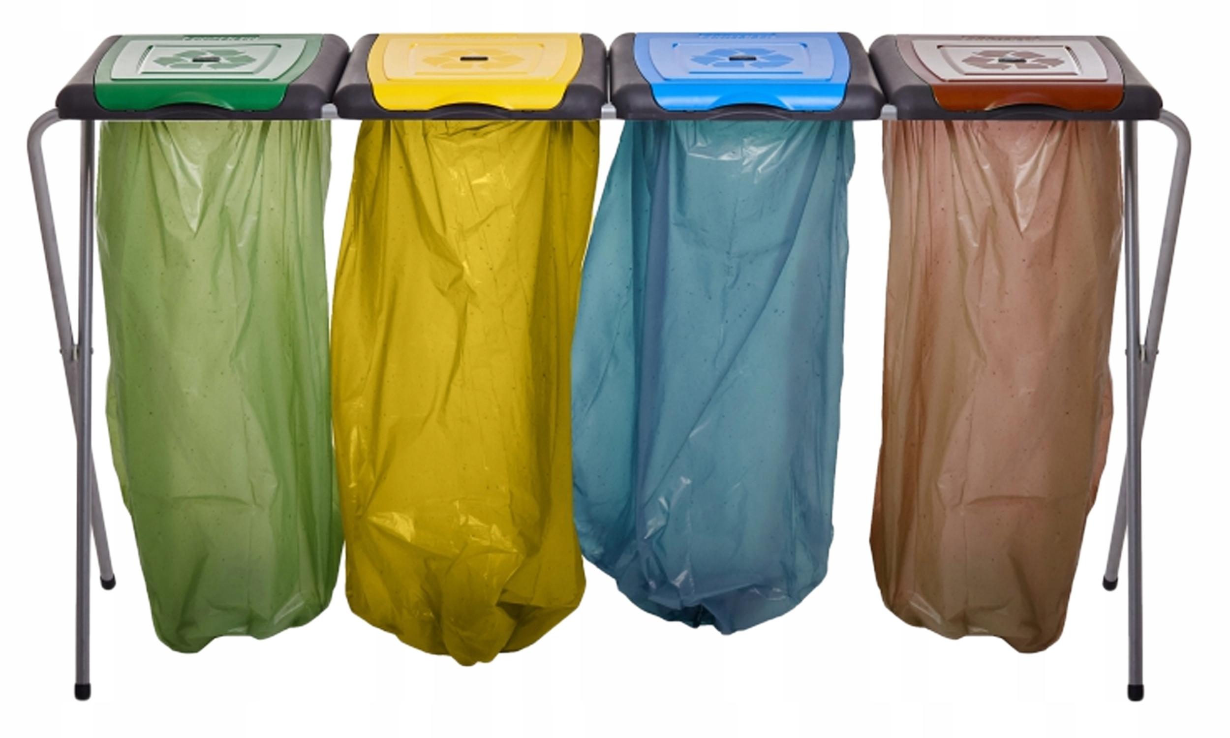 Стойка для сумок, мусорное ведро для сортировки отходов