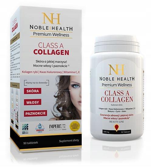 Collagen Kolagen Noble Health Piekna Skora Wlosy 5039800851 Allegro Pl