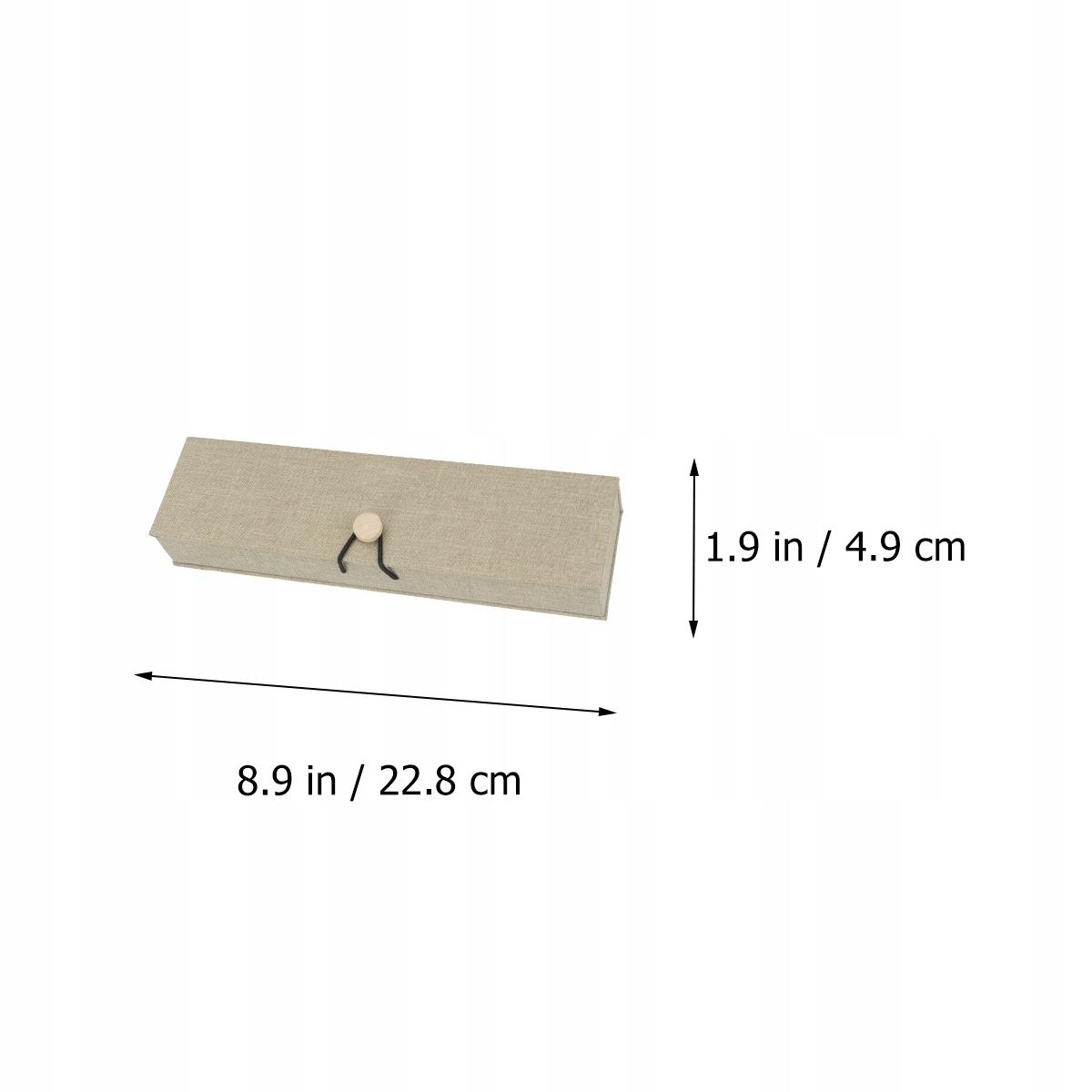 1 sada 5 kusov šperkovnice Retro Linen