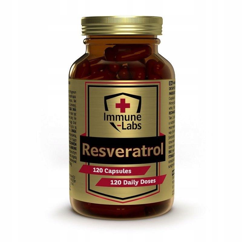 Immune-Labs Resveratrol 120kap Resweratrol 200mg