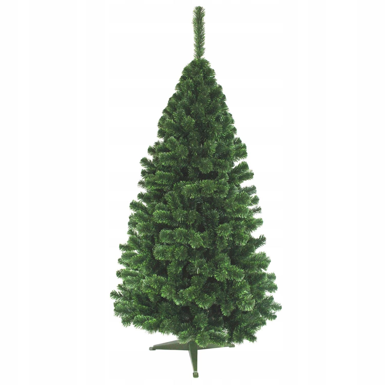 Jedľa LUX 220 cm, zelená, umelá