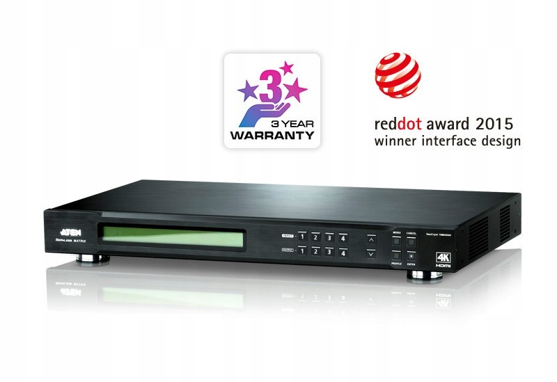 Купить АФИН VM6404H 4х4 4K HDMI PG301OF SWITCHSCALER на Eurozakup - цены и фото - доставка из Польши и стран Европы в Украину.