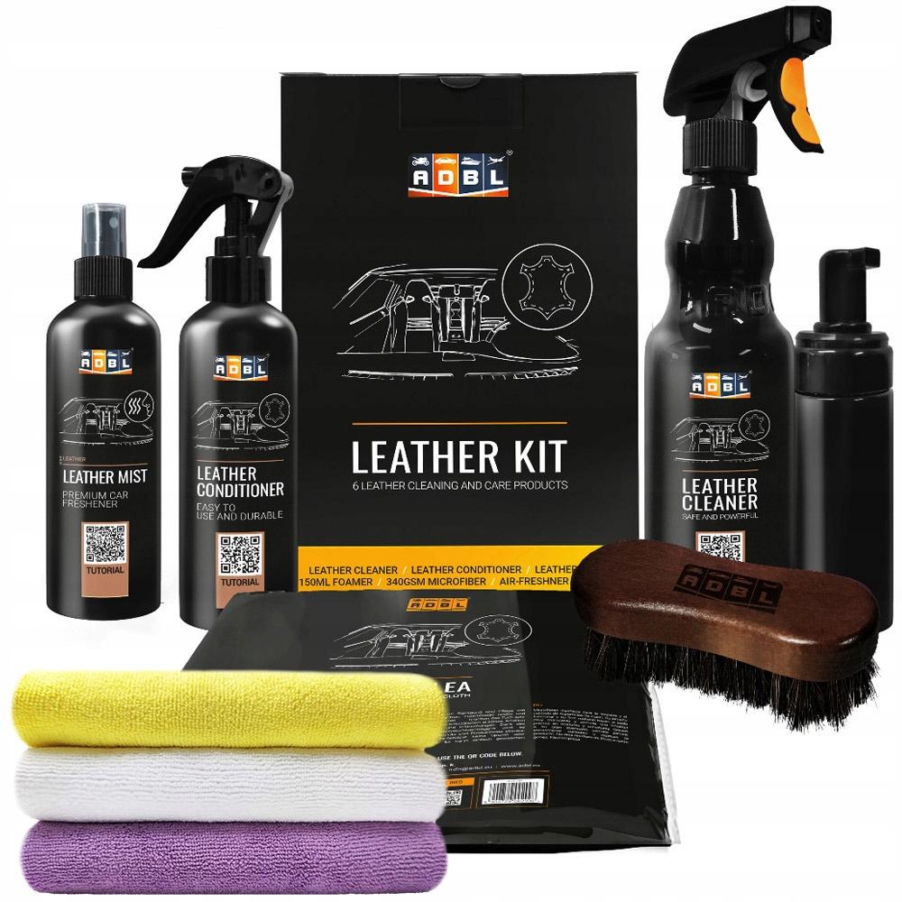 Комплект для очистки кожи ADBL LEATHER KIT