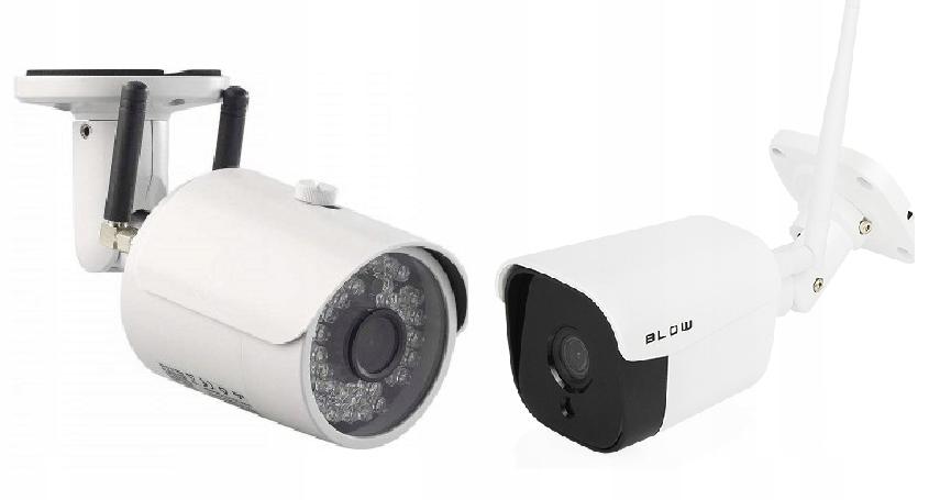 Kamera Zewnętrzna GSM SIM Router WiFi + Kamera 4MP