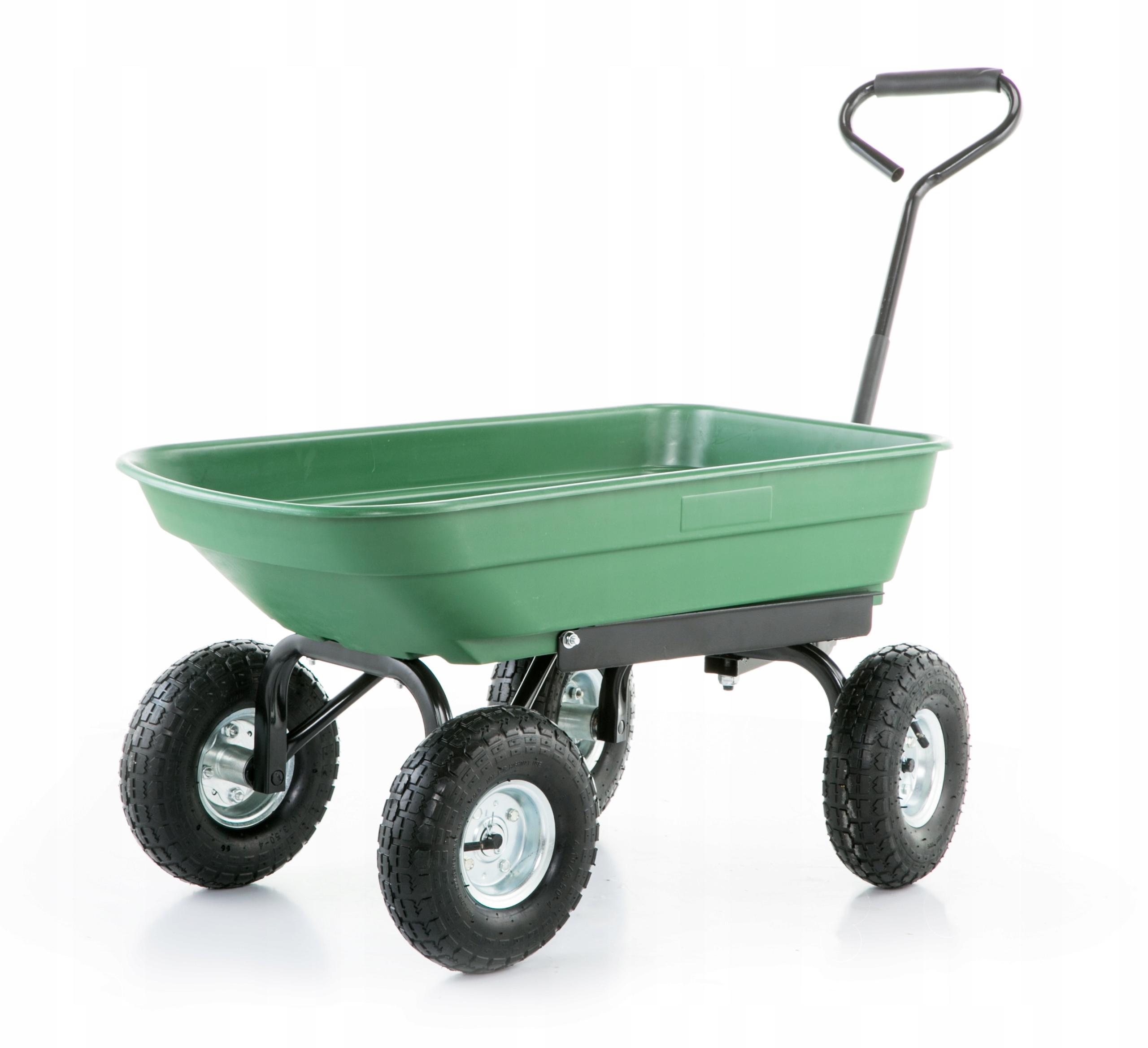 Talicska kerti szállító kocsi billenős 350 kg Kerekek száma 4