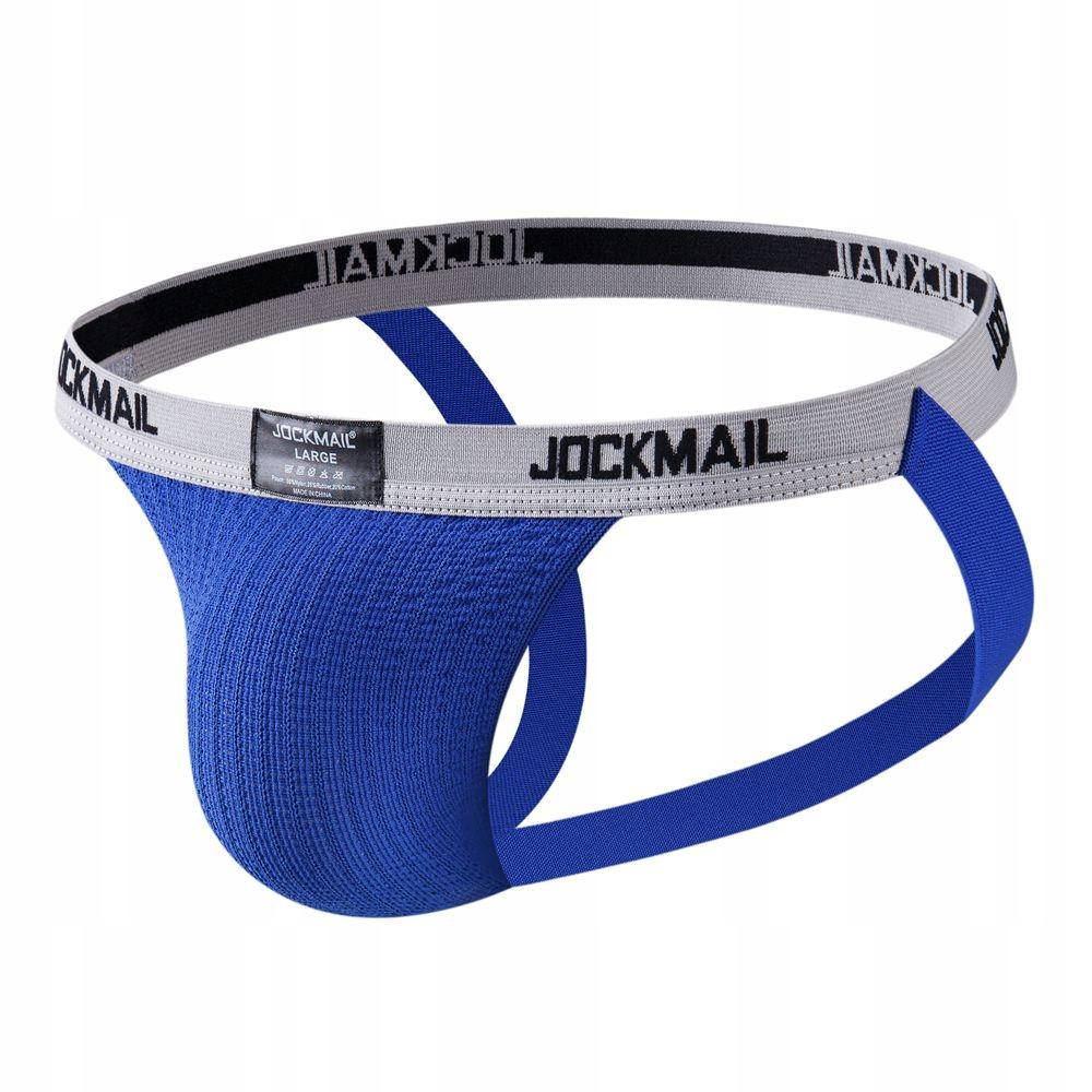 PUMP JOCKMAIL JOCKSTRAP M BLUE RETRO PREMIUM