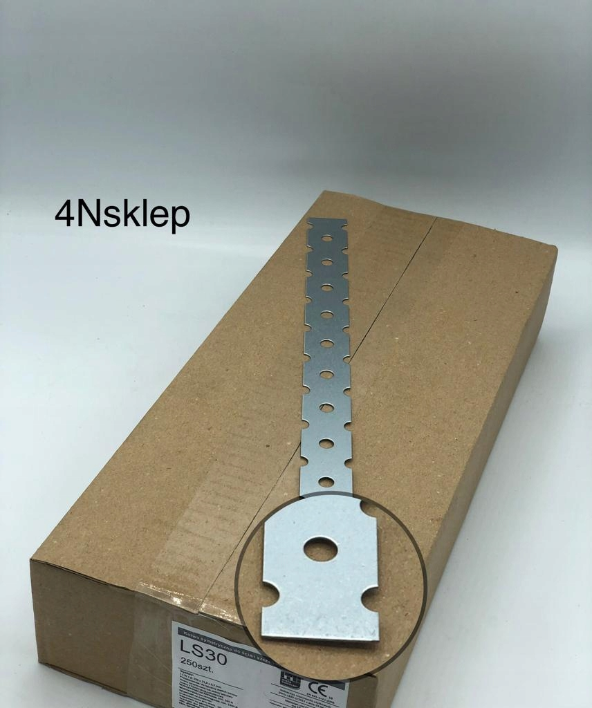 LS30 Коннектор для стен, кирпичной кладки, ATEST 300мм - 250 шт.