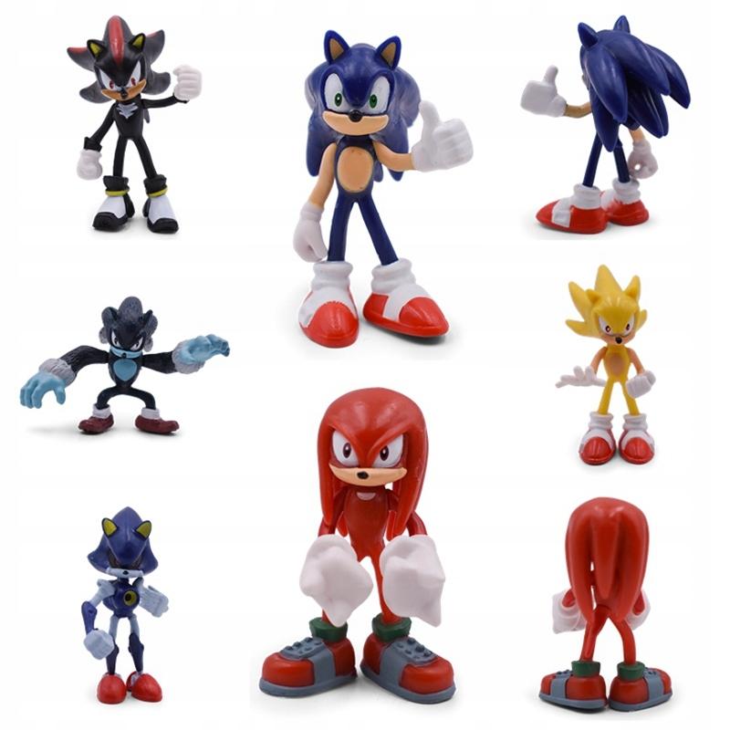 Zberateľská figúrka 6 dielikov Sonic the Hedgehog