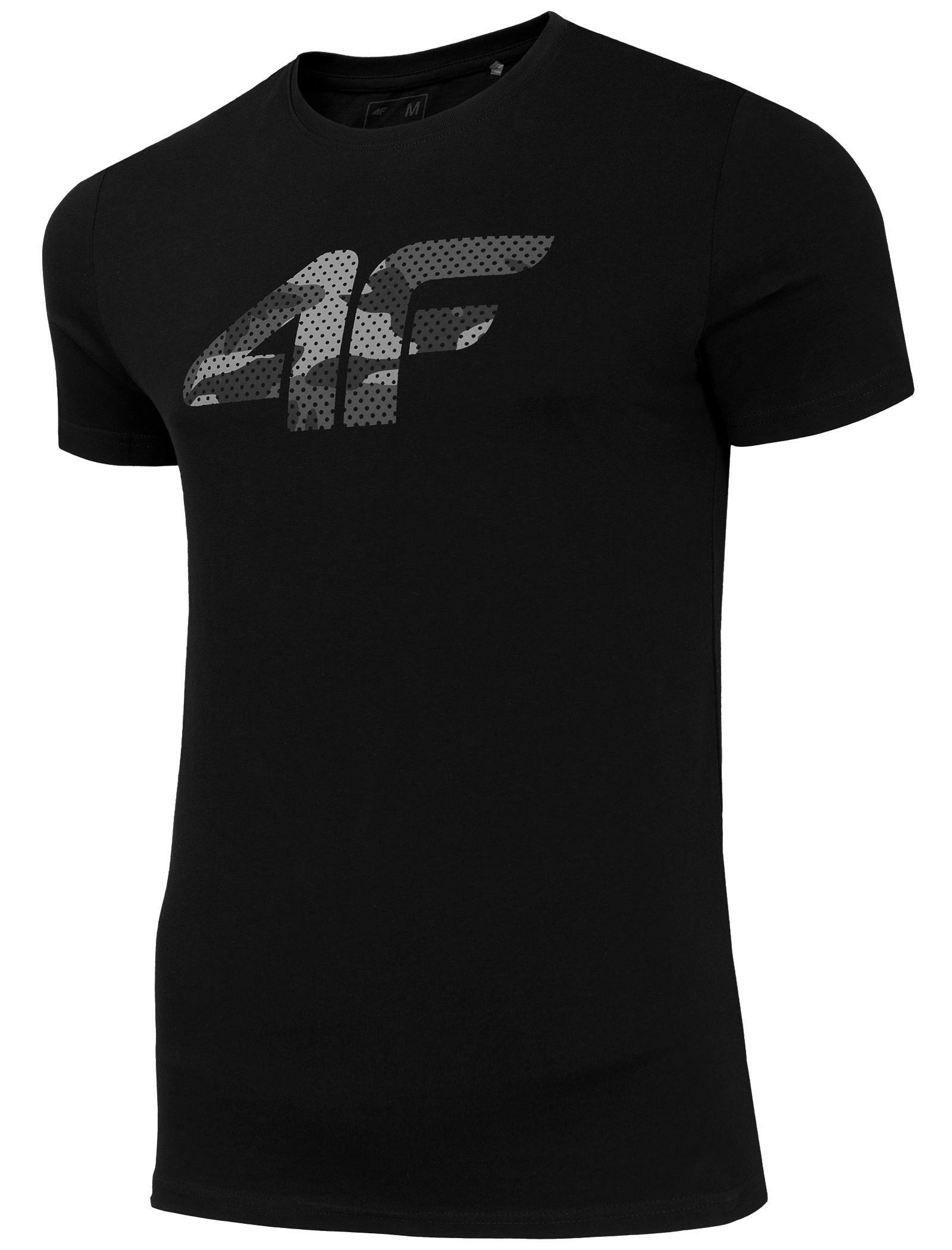 Купить Мужская футболка 4F Хлопок T-РУБАШКА ЧЕРНЫЙ M на Otpravka - цены и фото - доставка из Польши и стран Европы в Украину.