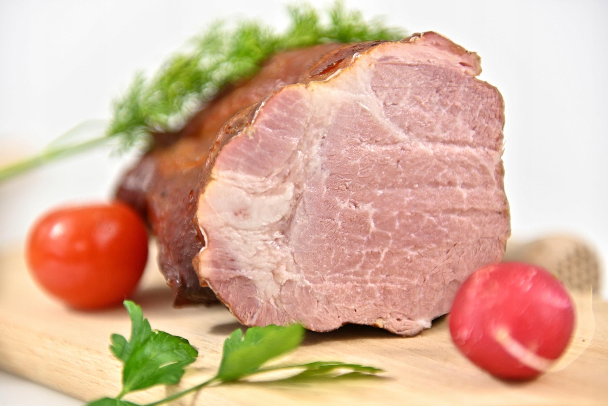 Шея свиная традиционная копченая около 550г