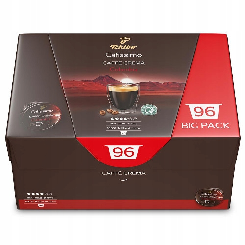 Tchibo Cafissimo caffè Crema Kolumbia 96 kapsúl