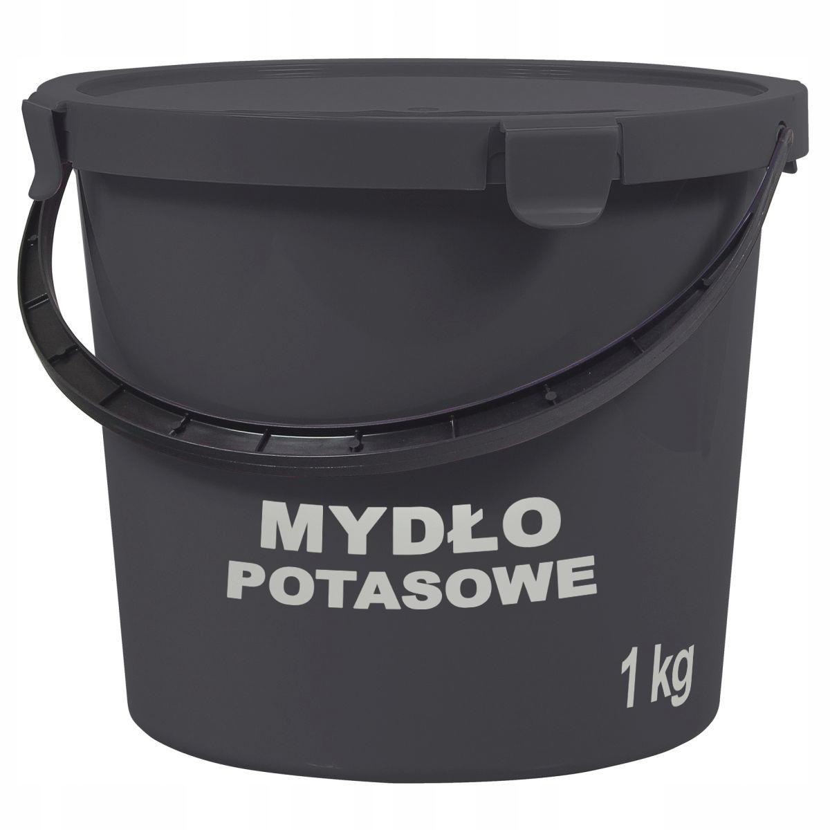 Mydło potasowe ogrodnicze 1 L na 100 L wody